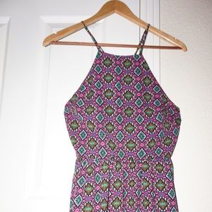 Socialite multicolored spring/summer dress Size M